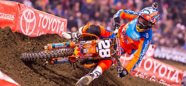 Nelson OUT but Barcia IN for Houston supercross!