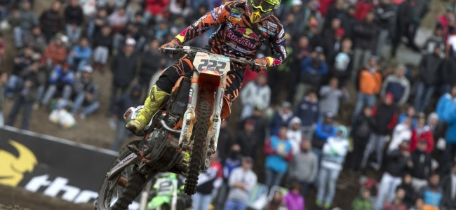 Saturday race report: British MXGP