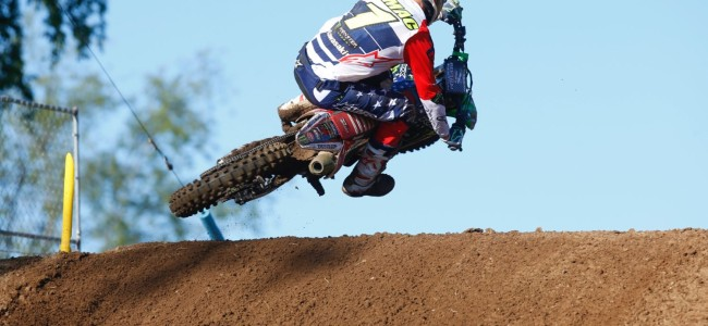 Tomac on a disappointing  Red Bud