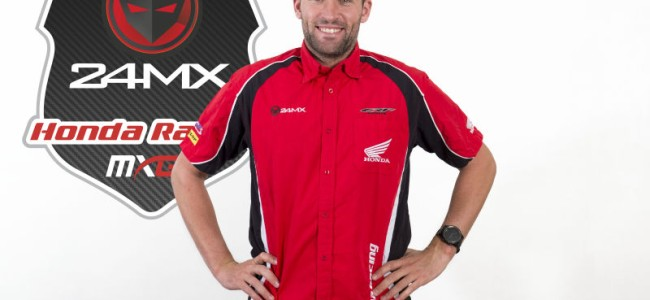 De Dycker signs for 24MX Honda!