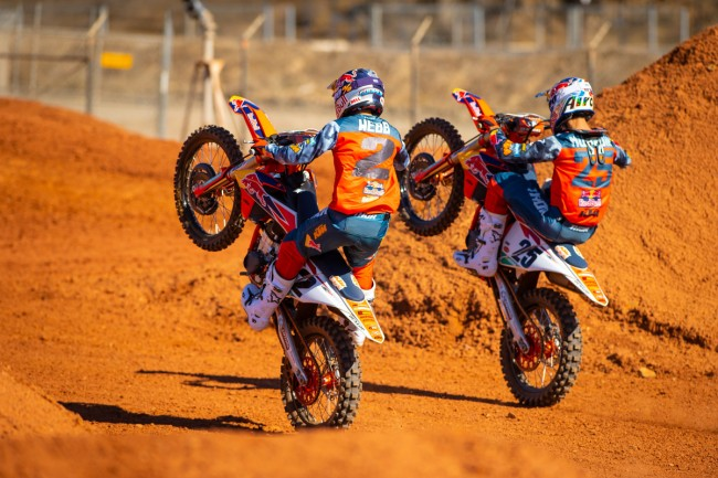 Webb and Musquin on season opener this weekend