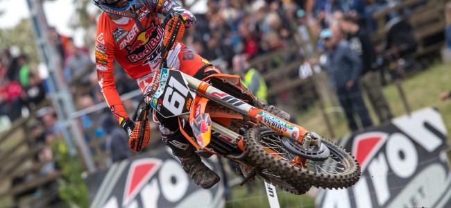 Prado wins MX2 in Loket and takes the red plate!