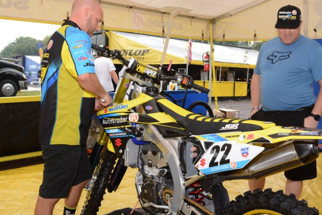 Official! Chad Reed IN for 2019 supercross with JGR Suzuki