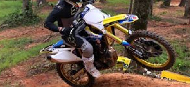 Video: See Reed on the JGR Suzuki – racing final AMA National?!