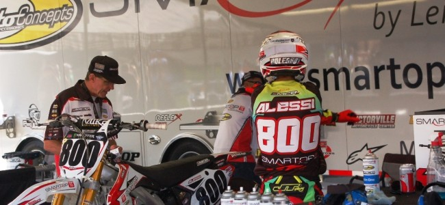 Mike Alessi says he's going for the WIN at the British GP!