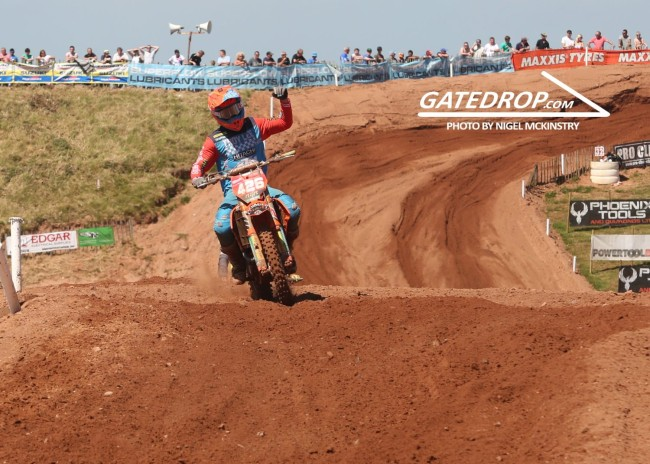 Who impressed: MX2 Desertmartin British championship