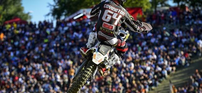 Covington back in MXGP – fresh start
