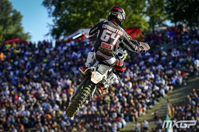 Covington back in MXGP – fresh start
