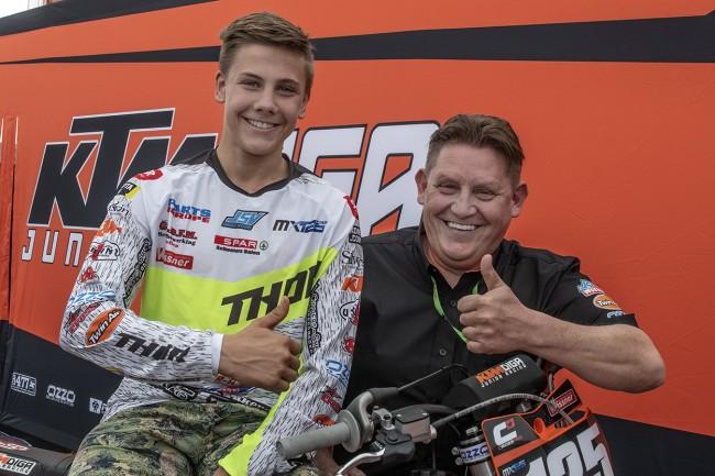 Interview: Dirk Saelen – KTM Diga Junior Racing team manager