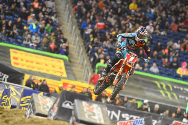 Dungey gets win taken off him at Detroit!