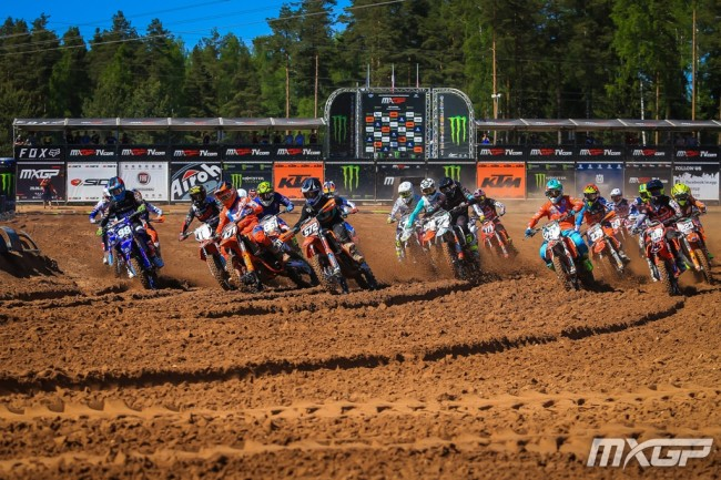 Who impressed: EMX125 in Latvia!