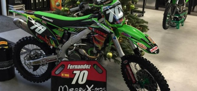 Ruben Fernández signs with F&H Racing!