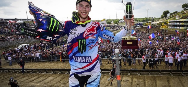 Febvre talks about winning his home GP