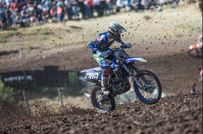 Video: Febvre okay after getting run over in Mantova first turn!