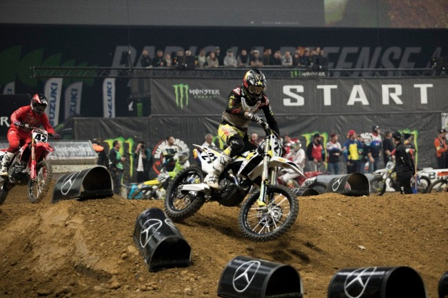 Anderson on his Paris supercross win