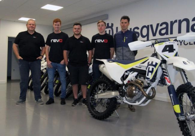 Official: Revo announce new Husqvarna team!