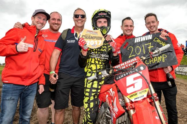Interview: Dave Thorpe on winning the British MX1 championship with Graeme Irwin