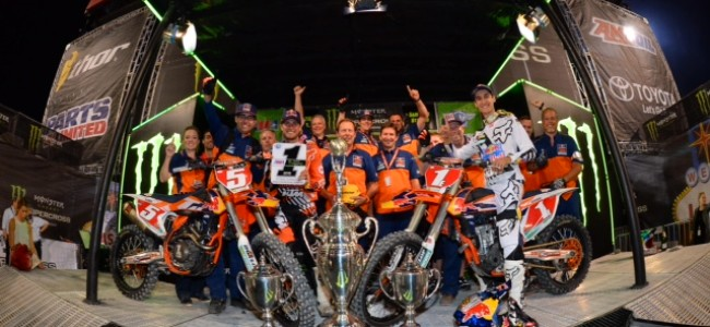 Race report: Dungey dominates Las Vegas supercross