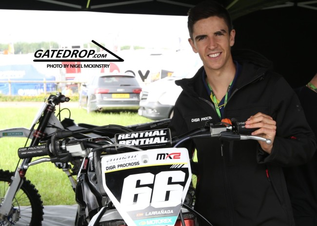 Iker Larranaga secures MXGP ride for 2020