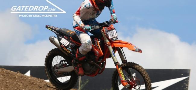 Interview: Josh Spinks on his EMX250 podium!