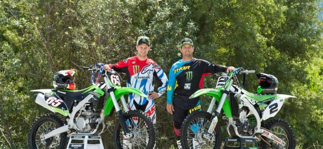 Video: Jonathan Rea GoPro as he rides with Jeremy McGrath at Pala!