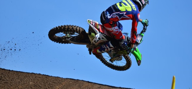 Tomac on his Red Bud win