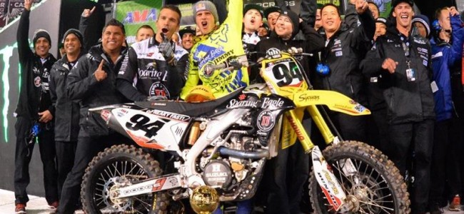 Roczen out of this weekend's Houston supercross!