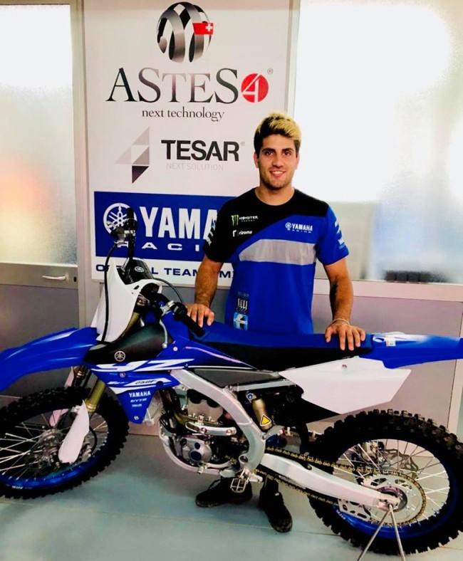 Samuele Bernardini secures another ride!