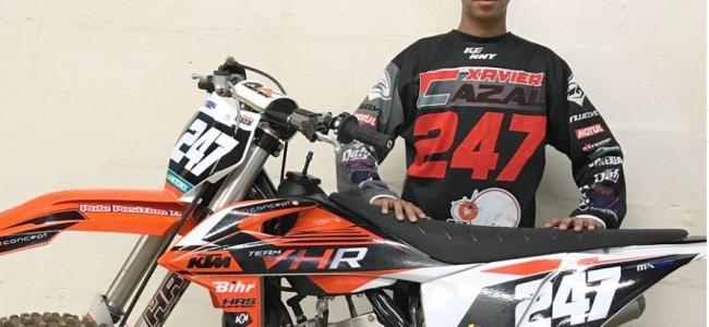 VHR KTM sign up EMX125 rider
