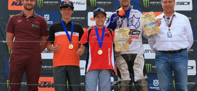 Prado and Kouwenberg crowned EMX champions