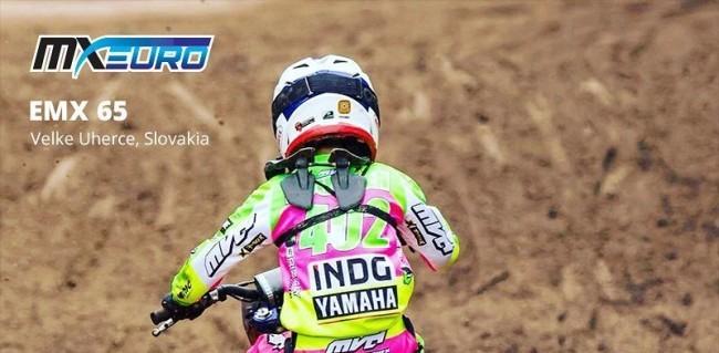 Race results: EMX65 & EMX85 – Slovakia