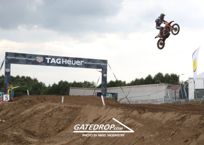 Gajser: It feels good to be on the podium again