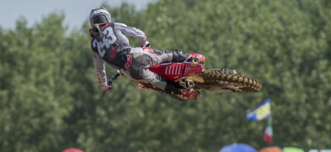 Gajser ready for final GP of the year