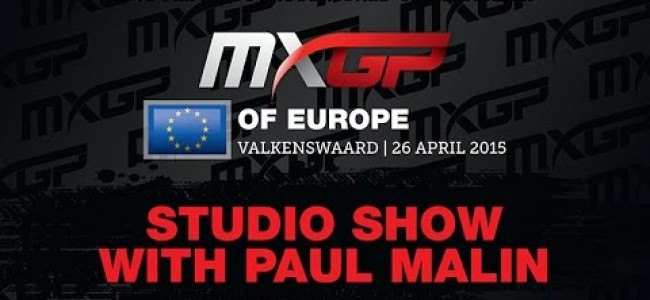 Video: MXGP studio show with Simpson and Gajser