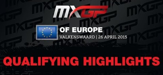 Video: MXGP and MX2  Valkenswaard qualifying highlights