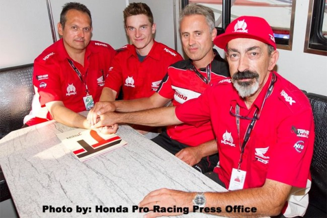 Official: Jacobi and Graulus to JTech Honda for 2016!