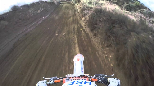 Video: Huge Desalle crash in Russia