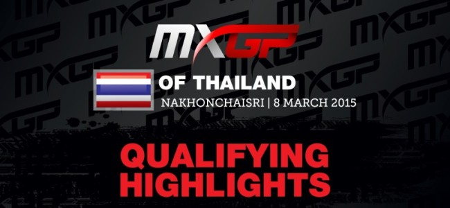 Video: MX2 qualifying highlights of Thailand