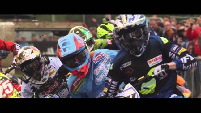 Video: Paulin's first HRC Honda win in MXGP