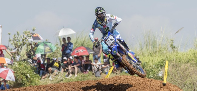 Twisted ankle for Geerts after sighting lap crash