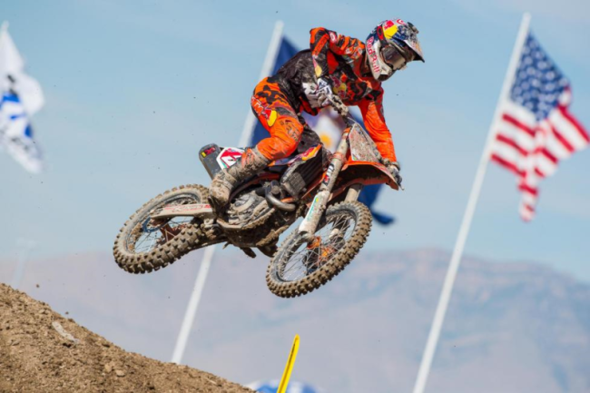 Dungey wins 2015 450 US National title!