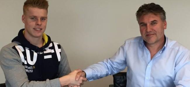 Van Berkel stays with SKS Husqvarna