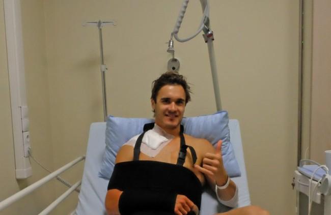 Injury update: Todd Waters!