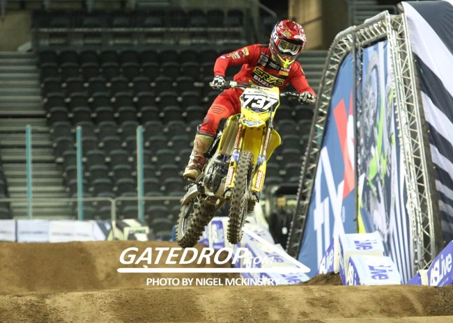 Interview: Valentin Teillet on Arenacross UK
