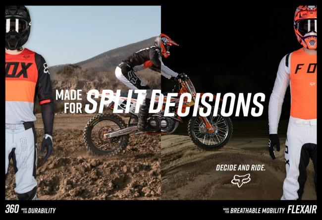 Fox racing debuts totally redesigned Flexair & 360 racewear collections