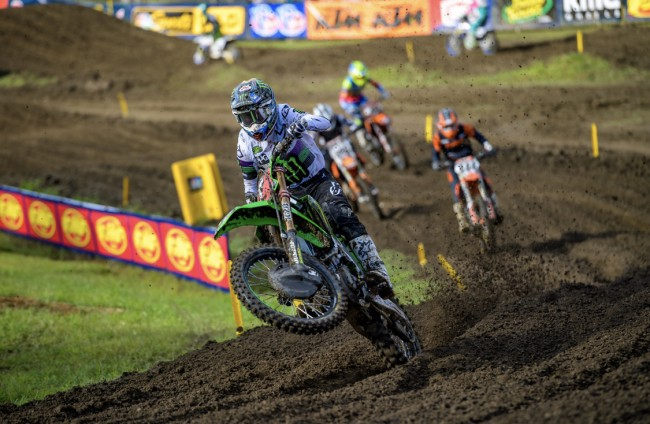 Tomac on missing the podium at Unadilla – exhausted!