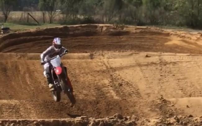 Video: Steven Clarke supercross testing