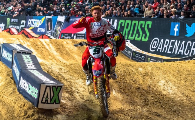 Chatfield and Escoffier take bronze in Arenacross