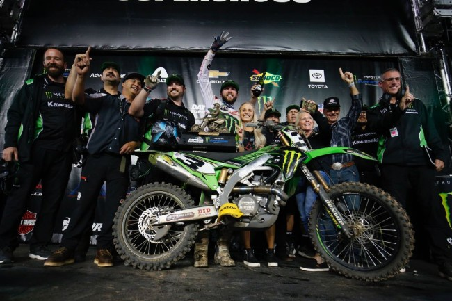Tomac on his Daytona win: Having that third win here is pretty special!