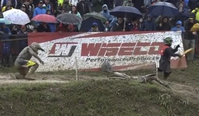 Video: Jed Beaton crash – Mantova